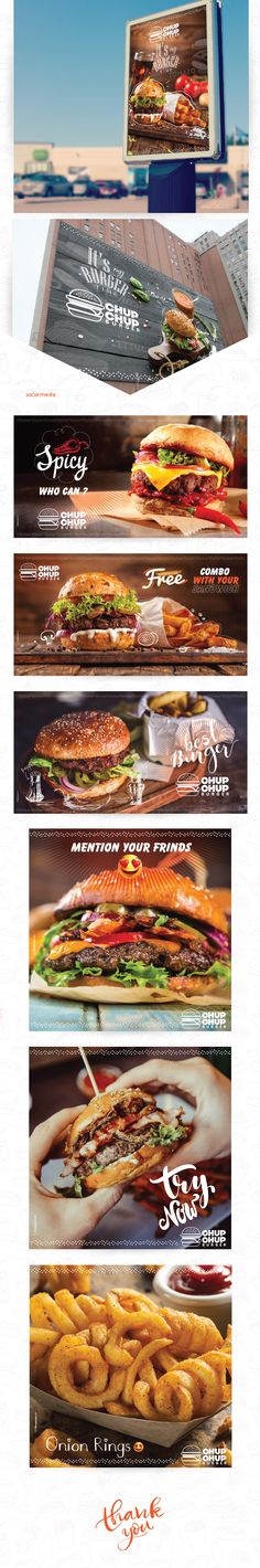 "Consulta este proyecto @Behance: ""chup chup burger"" https://www.behance.net/gallery/43958831/chup-chup-burger"