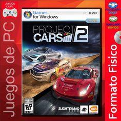 Project Cars 2 / PC Formato Físico (DVD o BluRay) Envíos a todo el país Trabajamos con Mercado de pago Pedilo acá