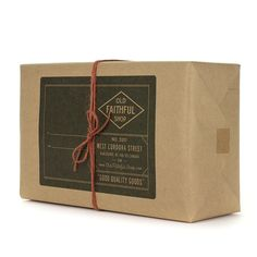 Anything wrapped in Old Faithful wrapping! It's ALL good. Everything is chosen not with just thought and care but excellent taste; they carry only the good stuff.