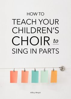Singing in parts is one of the great joys of choral singing. The challenge of singing an independent line and the fulfilling feeling of creating harmony and musical interest is both fun and motivating for singers (of all ages!). But how do you teach that? How do you introduce part-singin