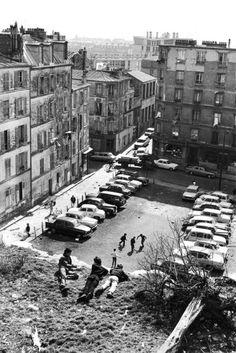 belleville and ménilmontant, the 20th arrondissement,paris, 1969  photo by henri cartier-bresson, from the europeans