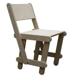 LoveThisChair by Huibert van Muilwijk for Made by Midas - 冰棒棍靈感的椅子