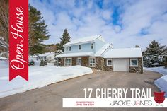 ~~ OPEN HOUSE ~~  SAT March 5th & Sun March 6th 1- 3pm  17 Cherry Trail ,Sugar Bush, Oro-Medonte $450,000  Presented by The Jackie Jones Team  This fully renovated 3 bedroom, 2 bath home is sure to impress the toughest critic. Located on a 90 x 260 ft premium lot in the desired Sugar Bush. Exterior features include covered front porch with exterior pot lights, heated double garage with dog bath a large windows and doors on 3 sides perfect for an at home business!