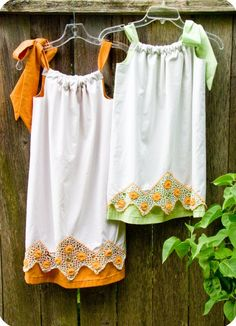 Lined Pillowcase Dresses