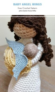 Are you a fan of heavenly creatures? What if you could catch some and turn them into handmade ornaments? With this selection of free crochet patterns, you can! Crochet Christmas Decorations, Crochet Ornaments, Holiday Crochet, Crochet Snowflakes, Crochet Gifts, Easy Crochet, Free Crochet, Handmade Ornaments, Crochet Fairy
