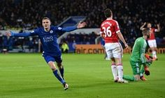 Jamie Vardy breaks record as Leicester draw with Manchester United - http://footballersfanpage.co.uk/jamie-vardy-breaks-record-as-leicester-draw-with-manchester-united/