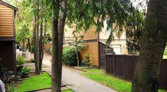 Heritage Vancouver Top 10 Endangered Sites 2015 | No. 4: Marine Garden's Townhouses: Mid-century Housing Innovation Vancouver Architecture, Townhouse, Innovation, Mid Century, Building, Modern, Plants, Top, Beautiful