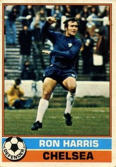 Ron Harris of Chelsea in Chelsea Fc, Football Cards, 1970s, Pride, Lady, Hot, Girls, Sports, Hs Sports