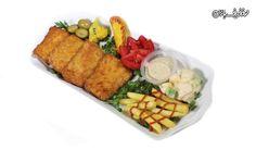 خوراک ماهی سوخاری شیر در رستوران طوبی با % تخفیف و پرداخت  تومان به جای  تومان