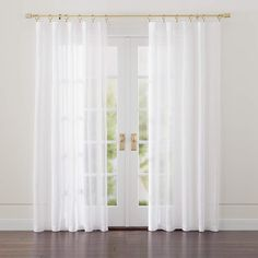 Linen Light Grey Sheer Curtains | Crate and Barrel Gray Sheer Curtains, Natural Curtains, Drapes Curtains, Curtain Panels, Living Room Decor Curtains, Cheap Bed Sheets, Custom Drapes, Window Coverings, Cheap Home Decor