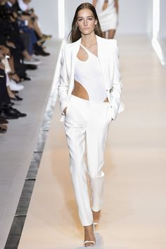 Mugler Spring 2015. See the whole collection on Vogue.com.