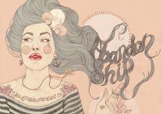 Fashionary Hand - Liz Clements