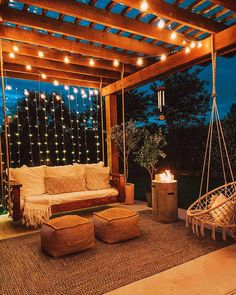 Balkon Design, Backyard Patio Designs, Backyard Pools, Pergola Designs, Small Balcony Design, Backyard Hammock, Small Balcony Decor, Backyard Greenhouse, Backyard Seating