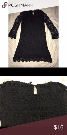 Black lace dress Black lace dress (quarter sleeve) H&M Dresses