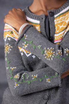 Vogue Knitting, Baby Knitting, Vintage Knitting, Free Knitting, Knitting Machine, Laine Rowan, Early Fall Outfits, Summer Outfits, Fair Isle Pattern