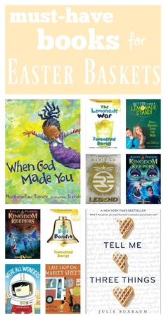 must-have books for easter baskets | springtime books for kids | teachmama | amy mascott raise a reader | easter books | books for middle grades