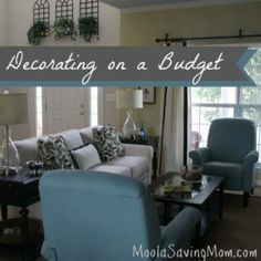 6 tips to redecorate on a budget budget skinny mom and