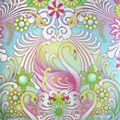 Papier peint Cisne - Catalina Estrada