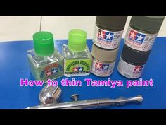 Thinning and using Tamiya paint and cement, This video will save you tim. Modeling Techniques, Modeling Tips, Air Brush Painting, Painting Tips, Spray Painting, Model Cars Building, Airbrush Art, Model Airbrush, Model Hobbies