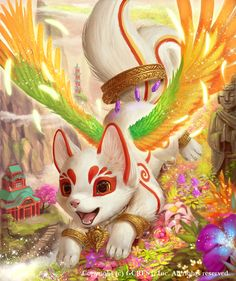 Inari (advance) by Silverfox5213.deviantart.com on @DeviantArt