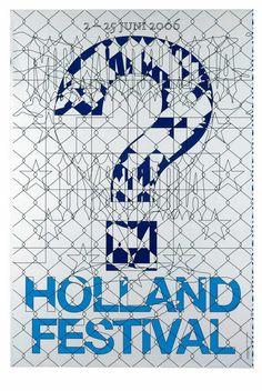 MAUREEN MOOREN, DANIEL VAN DER VELDEN (PAYS-BAS/NETHERLANDS) AFFICHE/POSTER : SERIE « HOLLAND FESTIVAL, MELANCHOLIA & HYSTERIA », 2007
