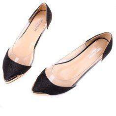 Zehui Womens Ballet Sparkle Pointy Transparent Low Heel Flat Shoe Black Zehui,http://www.amazon.com/dp/B00D3HLAOM/ref=cm_sw_r_pi_dp_Hp4lsb14MZKPCSK5