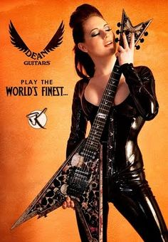 "Dean Guitars ""Play the world's finest"""