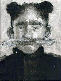man with fluffy ears - O στρατηγός Δελαμπόγκο