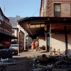 :: Janet Delaney, South Street at Beekman, 1984 ::