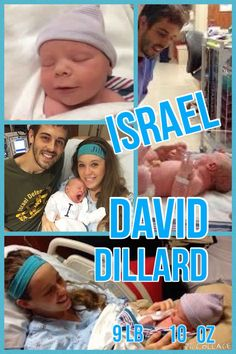 Welcome to the world Israel David Dillard! He was born on April 6, 2015 at 11:49 pm weighing 9 lb 10 oz. Both Jill and Israel are in great health!