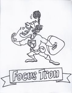 Focus Tron I Help Give You Focusing Powers So Your Brain Can Stay Connected To