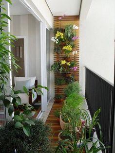 Afbeeldingsresultaat voor smal balkon inrichten