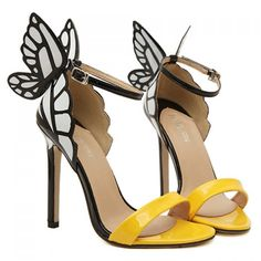 $35.63 Trendy Butterfly Wings and Color Block Design Women's Sandals