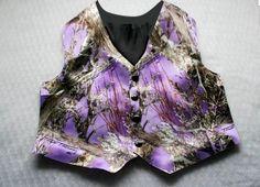 Mens Camo Vest Camouflage Vest Camo Vest Purple by IDoDoodads Camo Tuxedo, Camo Tie, Camo Vest, Purple Vests, Purple Camo, Camo Formal, Formal Wear, Wedding Vest, Wedding Attire
