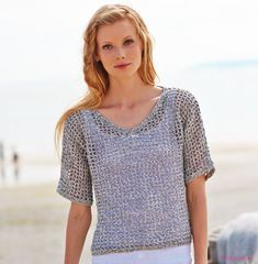 002 cyc alta costura pdf - Her Crochet Easy Crochet, Knit Crochet, Crochet Shirt, Vest Pattern, Lace Scarf, Beautiful Crochet, Shawls And Wraps, Crochet Clothes, Pulls