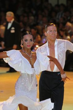 Paso Doble - I love the bottom half of her dress. Not sure about the top. #dancesport #latindance