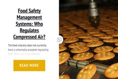 Food Safety Management Systems: Who Regulates Compressed Air?