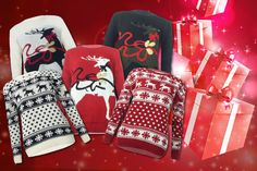 Take a look at the deal I just bought. £12 instead of £39.99 (from MYO Fashion) for a Christmas jumper in a choice of 5 designs - save 70%