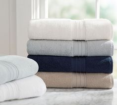 Hydrocotton Bath Towels | Pottery Barn Mentioned: http://thesweethome.com/reviews/best-bath-towel/#great