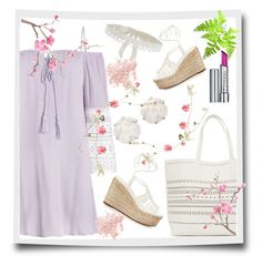 """""""Spring"""" by lindaking67 ❤ liked on Polyvore featuring Chloé, Chanel, Jessica Choay, By Terry and Bare Escentuals"""