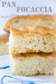 Senza glutine...per tutti i gusti!: Pan Focaccia senza glutine con lievito madre