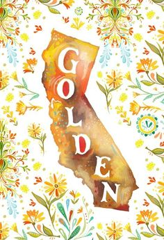 """I love how this print is called """"Going to California""""  MUST have this for our place in Cali :)"""