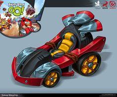 Angry Birds GO! on Behance