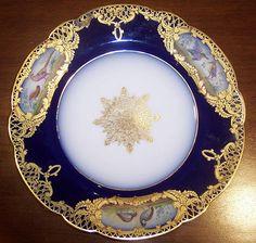antique dishes | ... Antiques » Antique Porcelain & Pottery » Antique Dish Sets For Sale