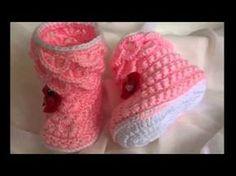 DIY, Como hacer unos zapatitos de bebe/ Baby shoes /cucaditasdesaluta - YouTube