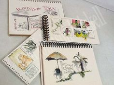 Artists' Journal Workshop: Fast Sketching and Building a Journal Page