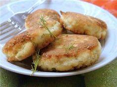 Сочные рыбные котлеты с йогуртом и геркулесом.. Рецепт c фотографией.