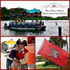 Walt Disney World offers some great options for young kids! Book one of their Pirate Adventure Cruises for your Little Pirate and enjoy a morning of fun!