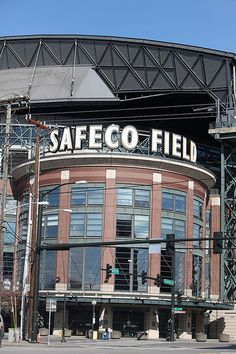 Safeco Field, home of the Seattle Mariners baseball team, Seattle, Washington