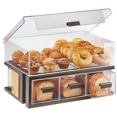 Shop Cal-Mil Sierra Bronze Metal and Rustic Pine Bread Display Case - 22 inch x 14 inch x 13 inch. Kitchen Organization Pantry, Kitchen Pantry, Kitchen Items, Home Decor Kitchen, Kitchen Tools, Kitchen Jars, Smart Kitchen, Kitchen Supplies, Kitchen Utensils